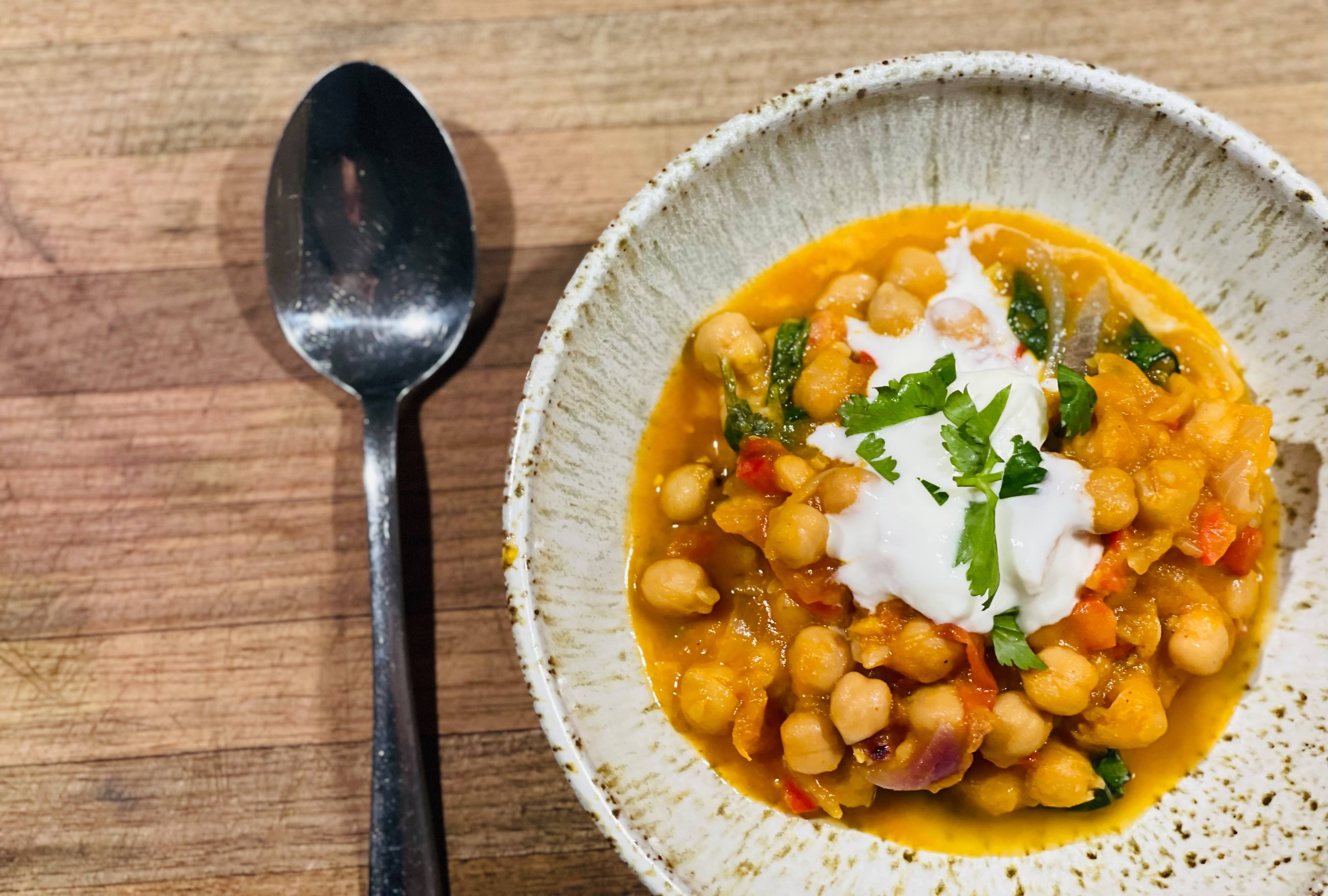 Delightful Chickpea Curry